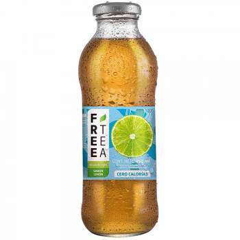 Té Verde FREE TEA Light Sabor Limón Botella 450ml