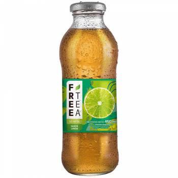 Té Verde FREE TEA Sabor Limón Botella 450ml