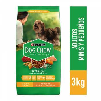 DOG CHOW Adultos Razas Pequeñas Bolsa 3Kg