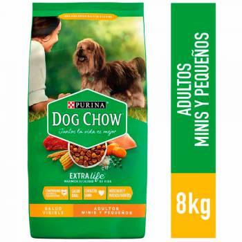 DOG CHOW Adultos Razas Pequeñas Bolsa 8Kg