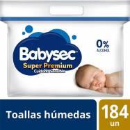 Toallitas Húmedas Babysec...
