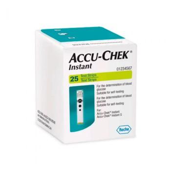 Accu-Chek INSTAN x25 Tira Reactiva