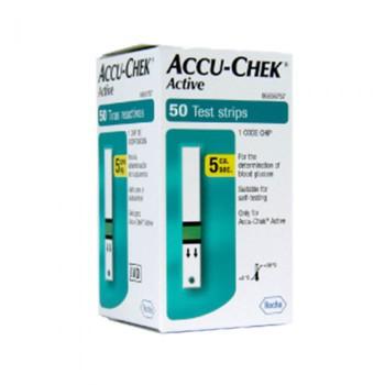 Accu-Chek ACTIVE x50 Tira Reactiva
