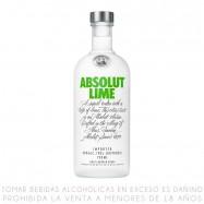 Absolut Vodka Lime Botella...