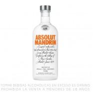 Absolut Mandrin Vodka...