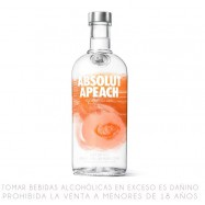 Absolut Apeach Vodka Suecia...