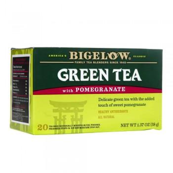 Bigelow Té Verde Con Granada Caja 20 Sobres