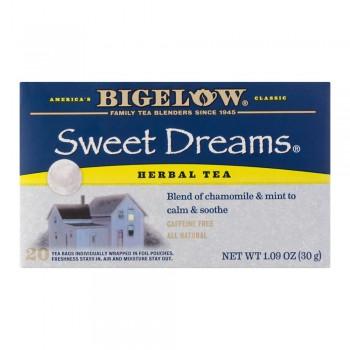 Bigelow Herbal Tea Sweet Dreams Caja 20 Sobres
