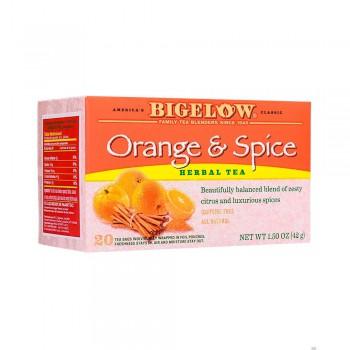 Bigelow Té Herbal Orange And Spice Caja 20 sobres