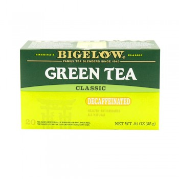 Bigelow Té Verde Descafeinado Caja 20 Sobres