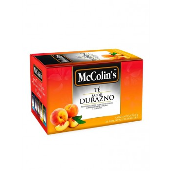 McColins Té Durazno Caja 25 Unidades
