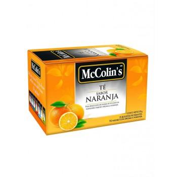 McColins Te Negro Naranja Caja 25 undades