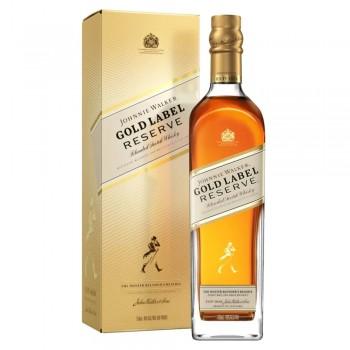 Pack x 12 JOHNNIE WALKER Gold Reserve 750ml