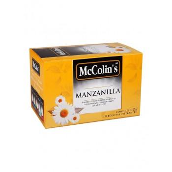 McColins Infusión Manzanilla Caja 25 Unidades