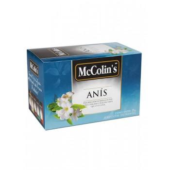 McColins Infusión Anís Caja 25 Unidades