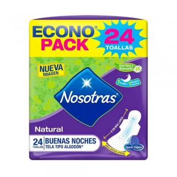 NOSOTRAS Buenas Noches Mayor Protección Paquete 24unidades