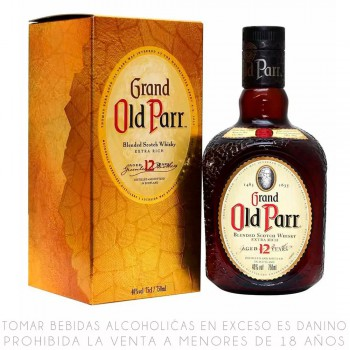 Old Parr 12 Años 750 ml