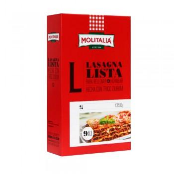 Lasagna Lista Clásica Molitalia Caja 350g