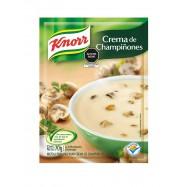 Crema de Champiñones Knorr...