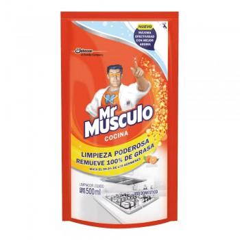 Antigrasa Mr. Músculo Naranja Doy Pack 500 ml