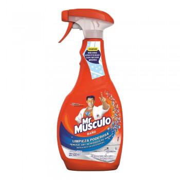Limpiador para Baño Mr. Músculo Frasco 500ml