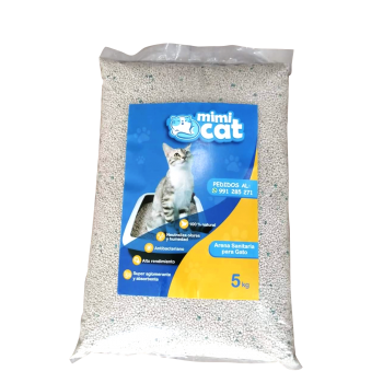 Arena sanitaria para gato MimiCat 5 Kg
