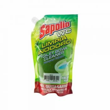 Limpia Inodoro SAPOLIO WC Desinfectante Limón Doypack 450ml