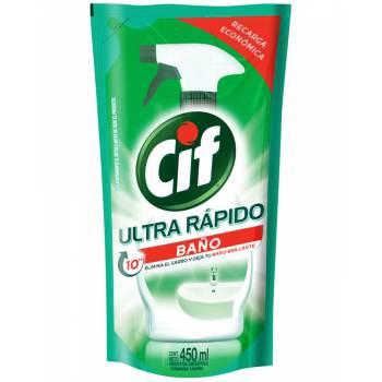 Limpiador de Baño CIF Repuesto Doypack 450 ml