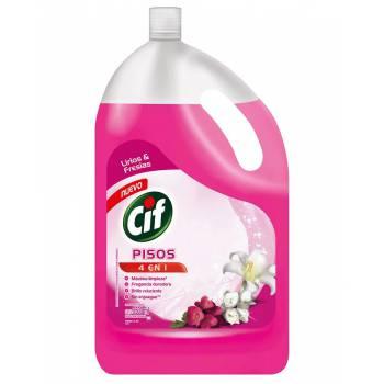 Limpia Pisos Liquido Cif Lirios y Fresia Botella 3.5 L