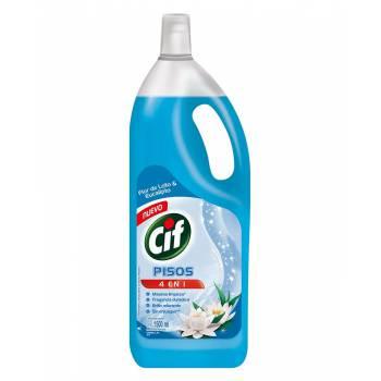 Limpia Pisos Liquido CIf Loto y Eucalipto Botella 1.5 L