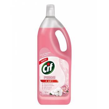 Limpia Pisos Liquido Cif Flor de Algodón y Jazmin Botella 1.5 L
