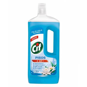Limpia Pisos Liquido Cif Loto y Eucalipto Botella 750 ml