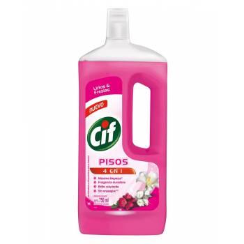 Limpia Pisos Liquido Cif Lirios y Fresia Botella 750 ml