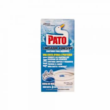 Desinfectante de Baño PATO Adhesivo Tanque Brisa del Mar Caja 3un
