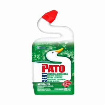 Desinfectante Líquido de Baño PATO Limpieza Avanzada Natural Botella 500ml