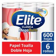 Papel Toalla Elite Clásico...