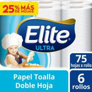 Papel Toalla Elite Ultra...
