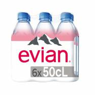 Agua Sin Gas Evian Natural...
