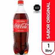 Gaseosa COCA COLA Botella 1L